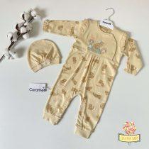 "Zeka i kapica za bebe Caramell ""Leopard"""
